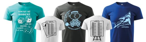 Absolventské tričká