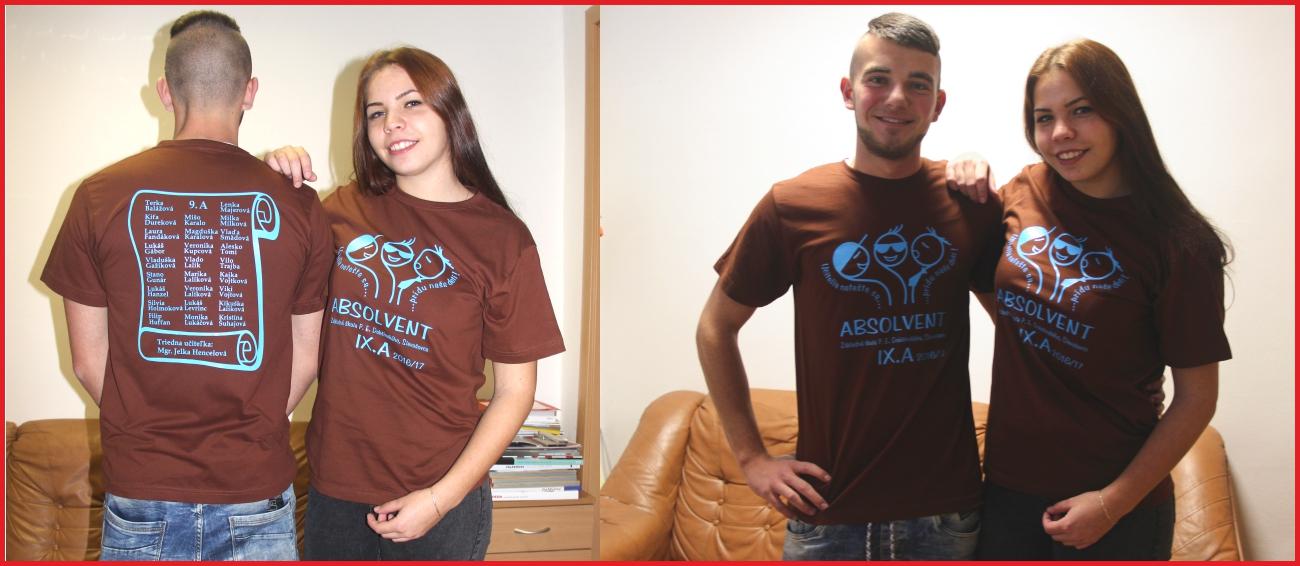 379e67e3e0f9 Absolventské tričká