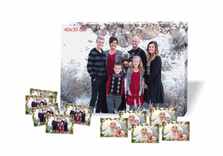 ed53661253 Vianočný balíček s magnetkami a obrazom.
