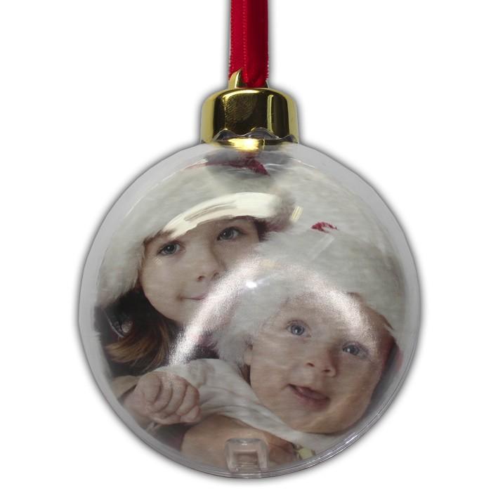 Ozdoba vianočná - guľa s fotografiou - Vaše darčeky 55f0ac7c856