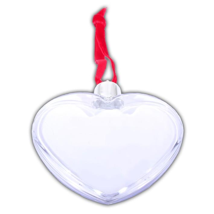 Ozdoba vianočná valentínska - srdce s fotografiou - Vaše darčeky 55659a52dae