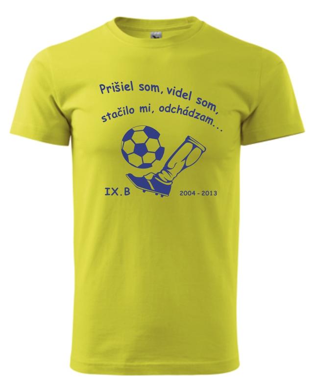 d2c1dbb2713a Absolventské tričko - Futbalisti - Vaše darčeky